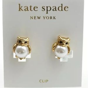 💚✳️NWT Kate Spade Into the woods Owl Earrings $58